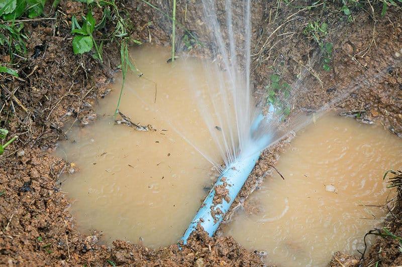 Water Main Line Repairs in Las Vegas