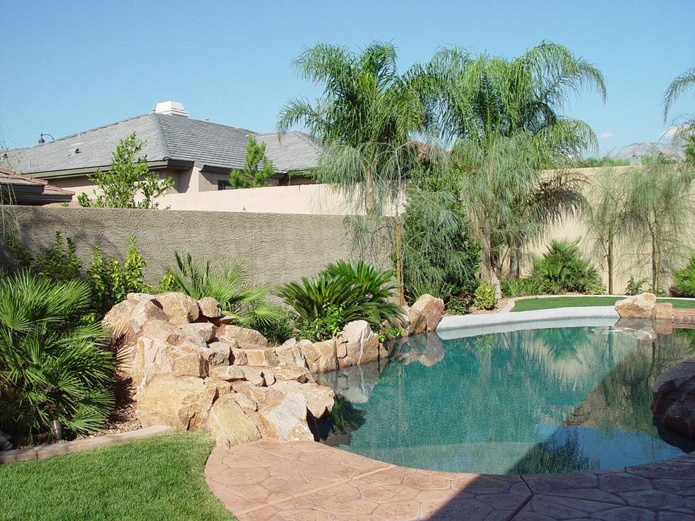 Complete Landscape Project In Summerlin Cacti Landscapes